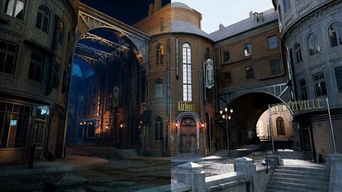 Steampunk Retro City