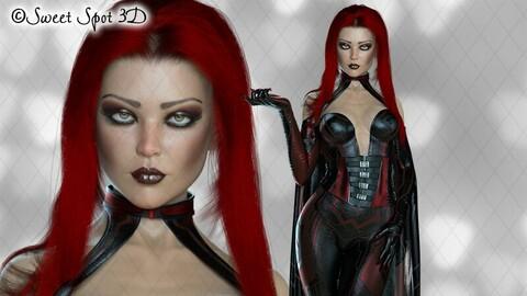 Daedrah Red & Black 01