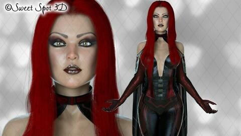 Daedrah Red & Black 05