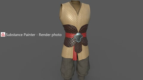 Chinese style ancient clothing  M