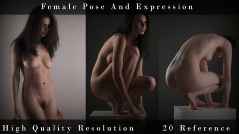 Female Pose And Expression