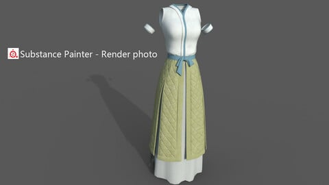Chinese style ancient clothing  Q