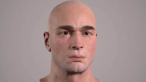 Male Head - 03