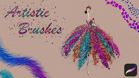 Artistic Brushes for Procreate