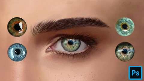 Eyes Swatches for Photoshop