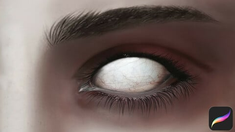 Horror Eyes Swatches for Procreate