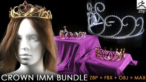 Crown IMM brush bundle + max, fbx, obj