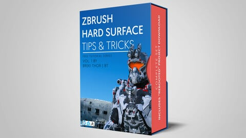 ZBrush Hard Surface - Tips & Tricks VOL.1