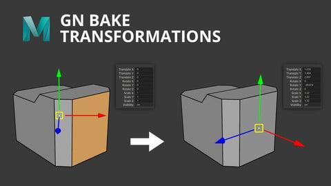 [Maya] GN Bake Transformations