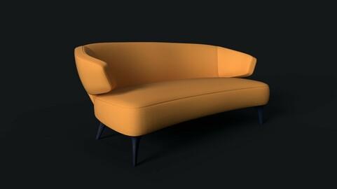Game Ready Sofa v.1 - Modern Style