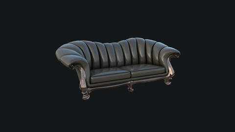 Game Ready Sofa v.3 - Classic Style