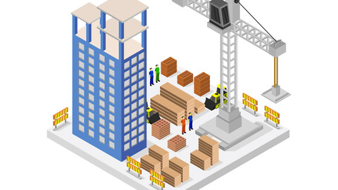 Building isometric building