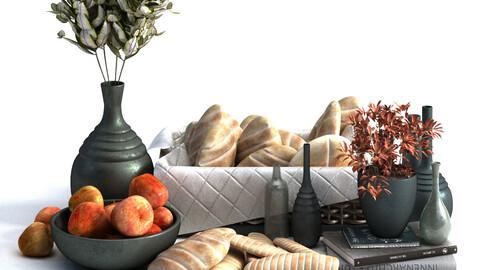 Decoration of breakfast set 030