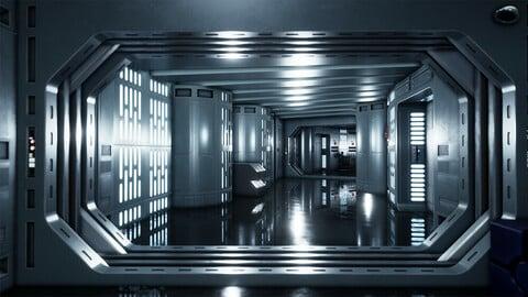 DeathStar Corridor Shot A