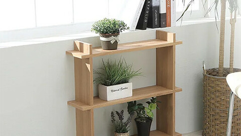 Fitted flowerpot display stand