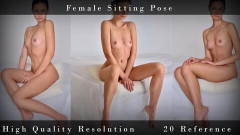 Female Sitting Pose
