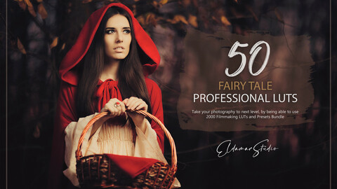 50 Fairy Tale LUTs and Presets Pack