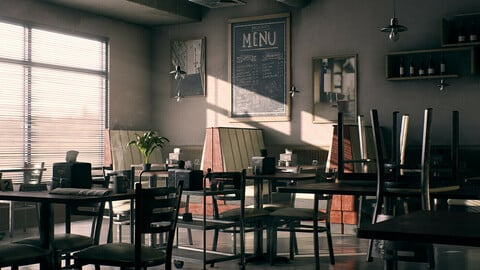 Coffee Shop Environment