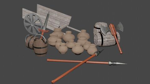 Medieval Game Set