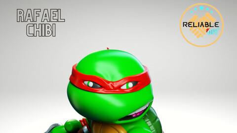 Rafael Chibi - STL 3D Printable - Digital STL Files