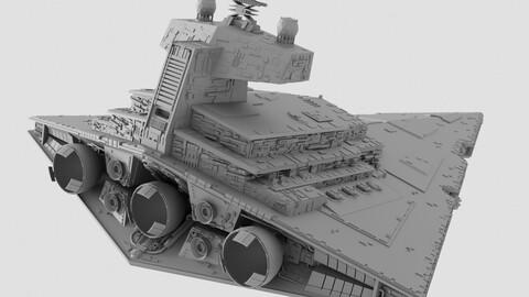 Imperial 1 Class Star Destroyer - Star Wars