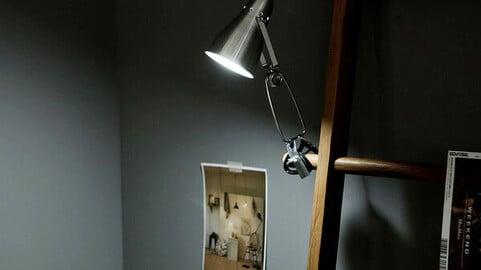 FOGO clamp light