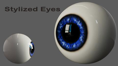 Stylized Cartoon Eyeball