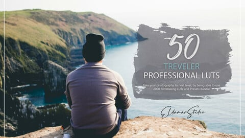 50 Traveler LUTs and Presets Pack