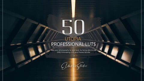 50 Utopia LUTs and Presets Pack
