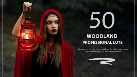 50 Woodland LUTs and Presets Pack