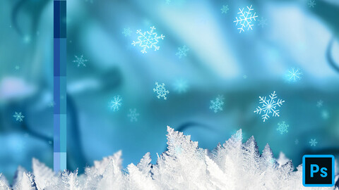 Cartoon Winter Swatches for Photoshop