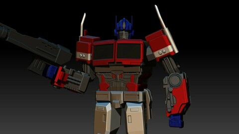 Optimus Prime from Bumblebee