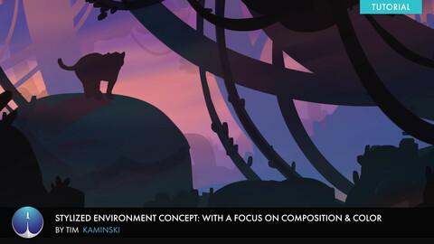 Stylized Environment Concept Art | Tim Kaminski