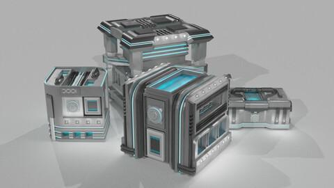 Futuristic Crate Set