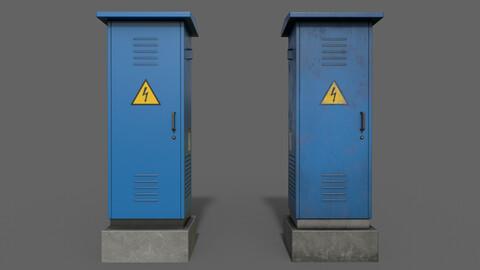 PBR Electric Box (Blue) Ver.2