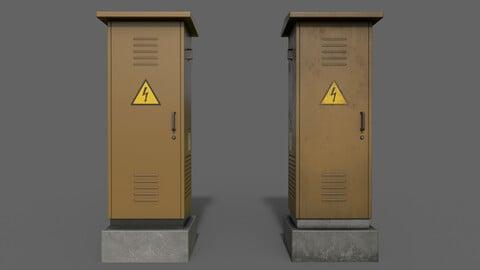 PBR Electric Box (Brown) Ver.2