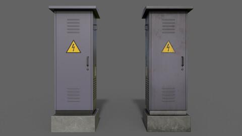 PBR Electric Box (Purple) Ver.2