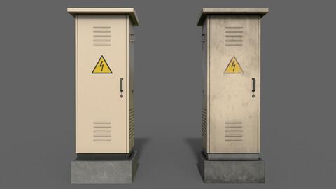 PBR Electric Box (BoneWhite) Ver.2