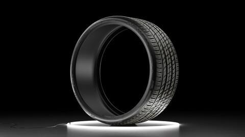 Car tire NEXEN NFERA SU1 3D model