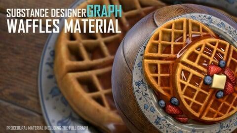 Morning Waffles - Substance Designer