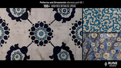 Patterns and Ornaments references pack VOL.1