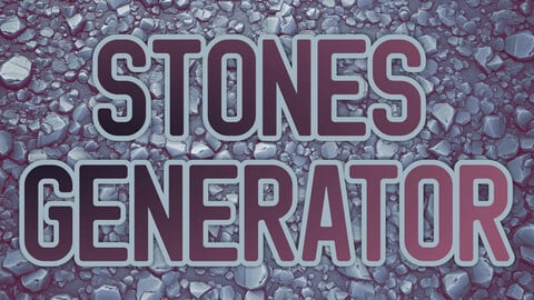 Substance: Stones Generator [.sbsar]