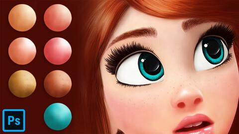 Cartoon Portrait for Photoshop