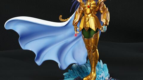 Saint Seiya Milo gold saint fanart 3D print model