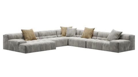 Sofa 3d model -23