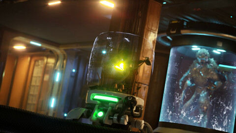 Sci-Fi Spaceship -  (Unreal Engine - Environment)