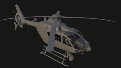 Police Helicopter model reference
