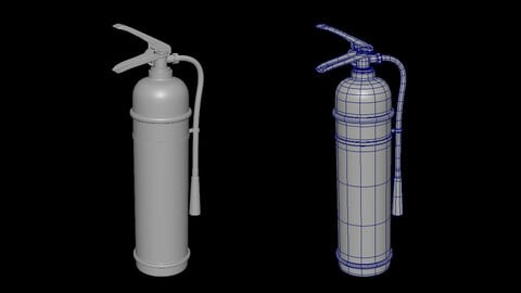 Fire Extinguisher for smoothing-subdivision