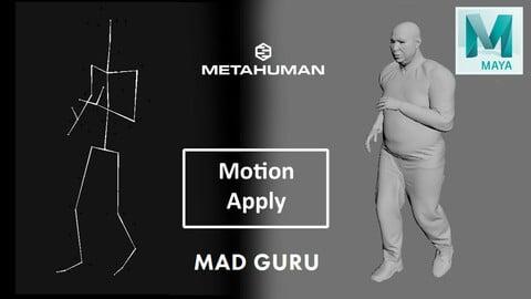 Metahuman Motion Apply Script