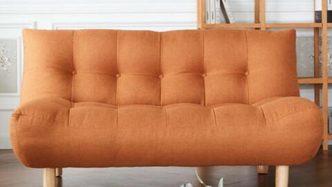 New Mango 2-seater waterproof fabric sofa